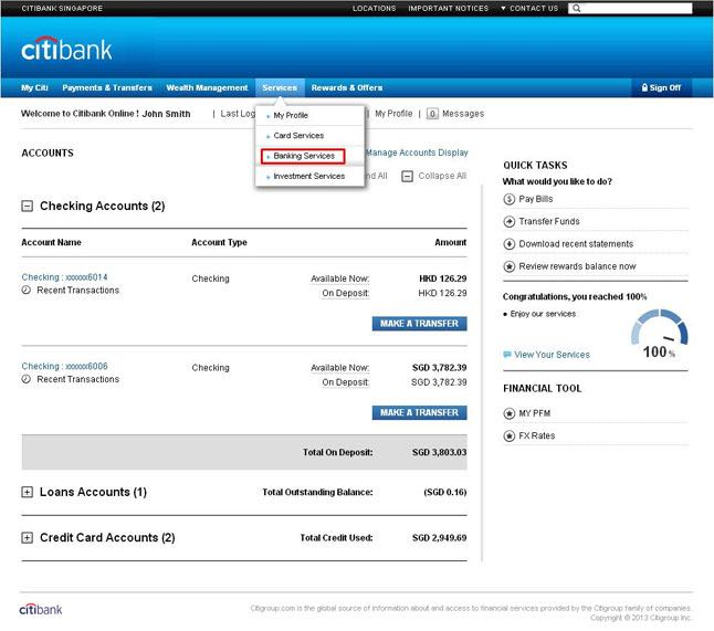 Citibank Online Sign In >> Online Banking By Bbva
